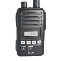 F60V Handheld 450-512MHz, 128 channels, 8 minute voice recorder and a vibration function