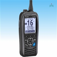 M93D  5 Watt VHF handheld with built-in GPS and Class D DSC