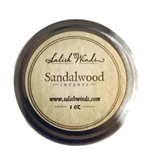 Red Sandalwood chips 1 oz tin