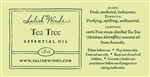 Tea Tree Essential Oil 2 oz