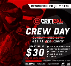 Critical Crew Day Paintball Big Game #67 at Combat Paintball Park 9-24-2017 Sunday
