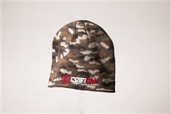 Critical Paintball Cap Camo - Logo