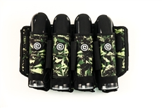 Critical Paintball V4 True Ejection Stealth Pack - 4+5 - Shattered Jungle