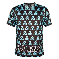 Hk Army Paintball T-Shirt - All Over Print Teal Dri Fit