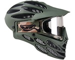 JT Flex 8 Full Coverage Paintball Mask - Olive