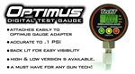 Tech T Paintball - Optimus High Pressure Digital Gauge (0-5000PSI)