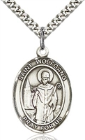"St Wolfgang Sterling Silver on 24"" Chain"