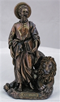 "St. Mark 8"" Bronze Lightly Painted"