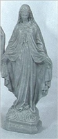 "Our Lady of Grace statue, 24"" in height"