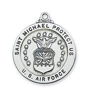 St Michael Air Force Sterling Silver 24""