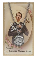 St.  Gerard Patron Saint Medal/Prayer Card