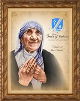 St Teresa of Calcutta Canonization Image 8X10