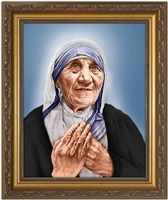 St Teresa of Calcutta Canonization Image 12X16