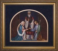 "Framed Marriage of Mary & Joseph 11""X12.5"""