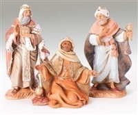 "Fontanini Three Kings 5"" Scale"