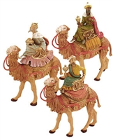 Fontanini Three Kings on Camels
