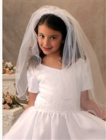 First Communion Veil - Erica