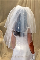 First Communion Veil - Irish Shamrocks