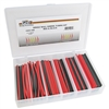 PI-0003-SRB  Single Wall Red & Black Shrink Tube Assortment in Plastic kit