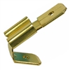 PI-1591D 6 pieces Brass .250 Inch Double Male/Single Female Receptacle