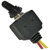 PI-5588C 1 piece Waterproof On-Off SPST Toggle Switch 1/2 Inch Hole 2 6 Inch 16ga Leads 12V 25 Amp