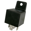 PI-5590C 1 piece Mini Relay 5 Pin SPDT with Resistor & Bracket  12V 30-40 Amp