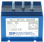 Battery Isolator, 1 Alternator 2 Batteries, 95 amps