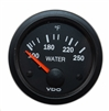 VO-310-010-006C GAUGE TEMP WATER 250F VDO 12V CV