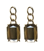 Cara Bold Earrings With Sparkling Stone, Elegant Earrings, Drop Earrings, Lovely Faceted Stones,