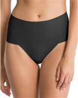 Spanx Undietectable Thong, Panties, Thongs, Brief Shapewear, Thong Shapewear, Black, Shapewear
