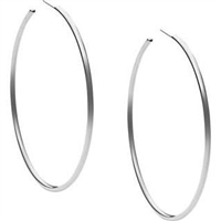 Sterling Silver Hoop Earrings, Fashion Hoop Earrings, Silver Hoop Earrings, Sterling Silver Hoops, White Gold Hoops, Hoop Earrings