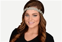 Pink Pewter Darlene Stretch Band