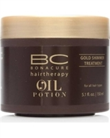 Schwarzkopf-BC-Oil-Potion-Gold-Shimmer-Treatment-5.1-fl-oz