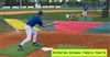 Aer-Flo Bunt Zone Baseball / Softball Infield Protector / Trainer