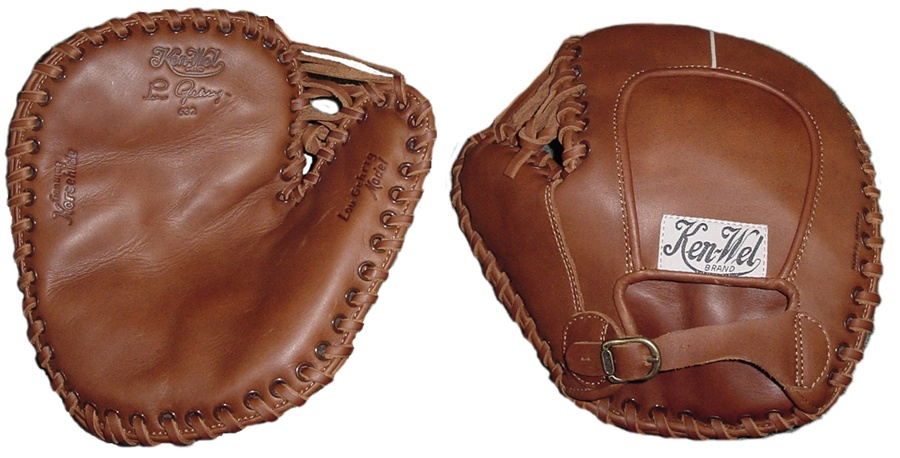 Akadema H1928 Hoboken Collection Lou Gehrig Glove