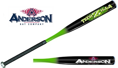 Anderson Bat TechZilla XP Youth Baseball Bat