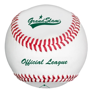 Baden Grand Slam Practice Leather Baseballs - Dozen