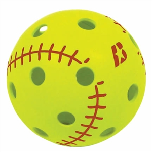 Baden Big Leaguer Plastic Training Softballs - Dozen
