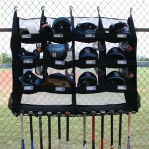 The Bench Coach R12X Dugout Organizer