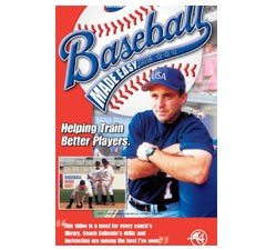Baseball Made Easy Infield / Outfield Drills DVD by Pete Caliendo