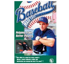 Baseball Made Easy Pitching / Catching Drills DVD by Pete Caliendo