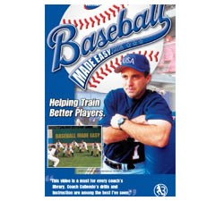 Baseball Made Easy Practice Organization DVD by Pete Caliendo