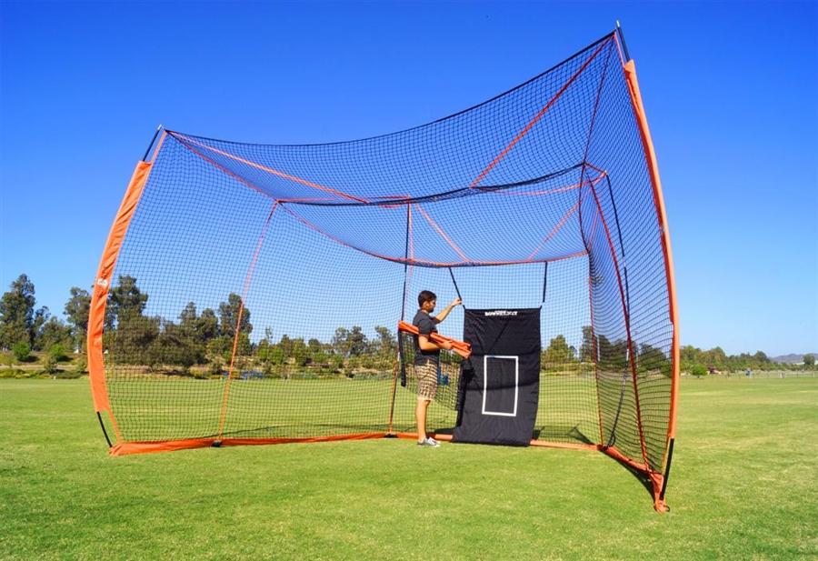 Bownet Portable Baseball / Softball Big Daddy Backstop ...