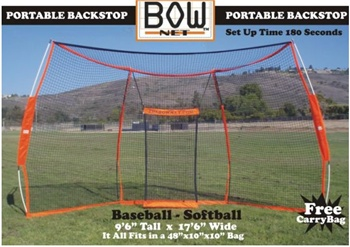 Bownet Portable Baseball / Softball Backstop