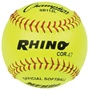 "Champion RHINO 12"" Leather Fastpitch Softballs - Dozen"