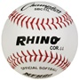 "Champion RHINO 11"" White Leather Fastpitch Softballs - Dozen"