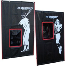 2-Sport Catcher Vinyl Backstop
