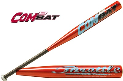 Combat Throttle Composite Fastpitch Softball Bat