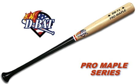 D-Bat Pro Maple Series Wood Bats