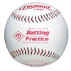 Diamond DMBP Leather Pitching Machine Balls - Dozen